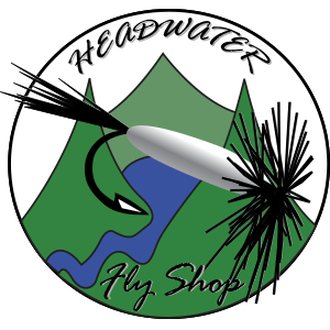 Headwater Fly Shop  Retina Logo